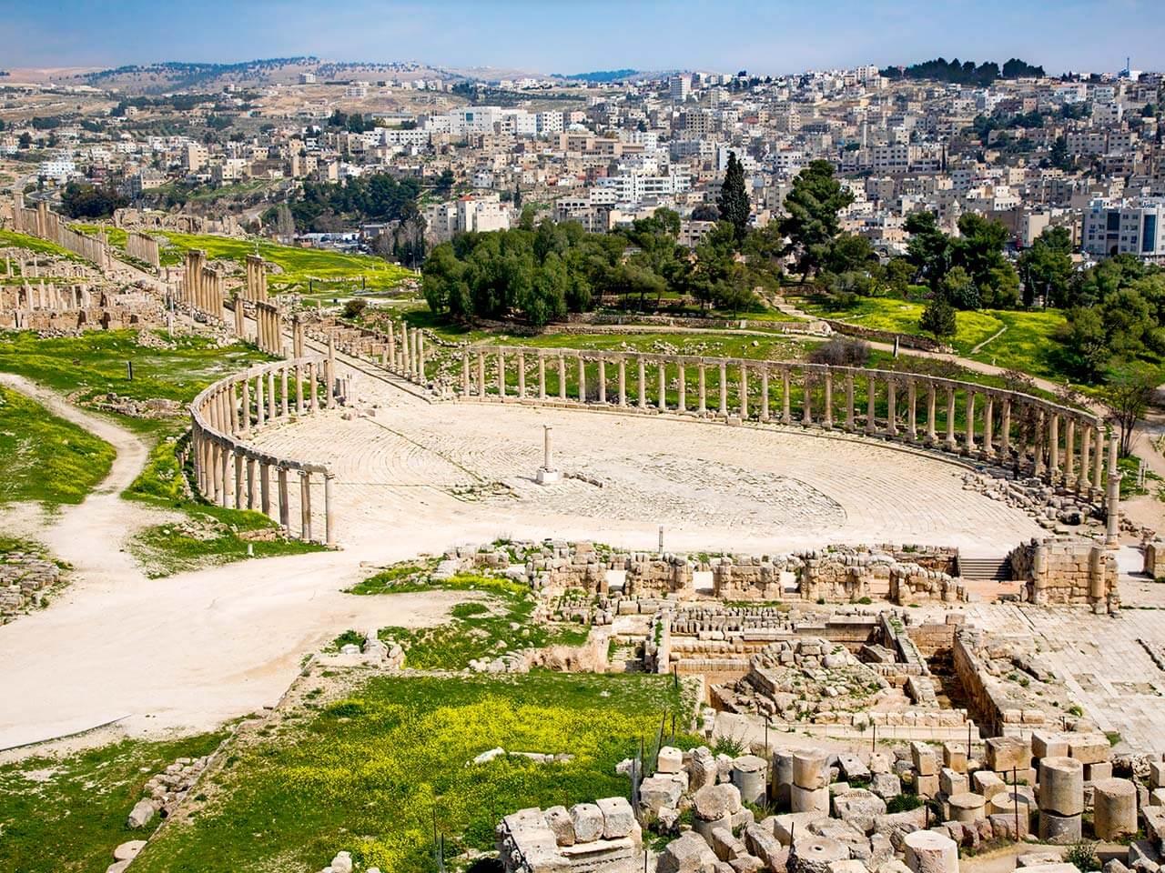 Jerash City, Jordan