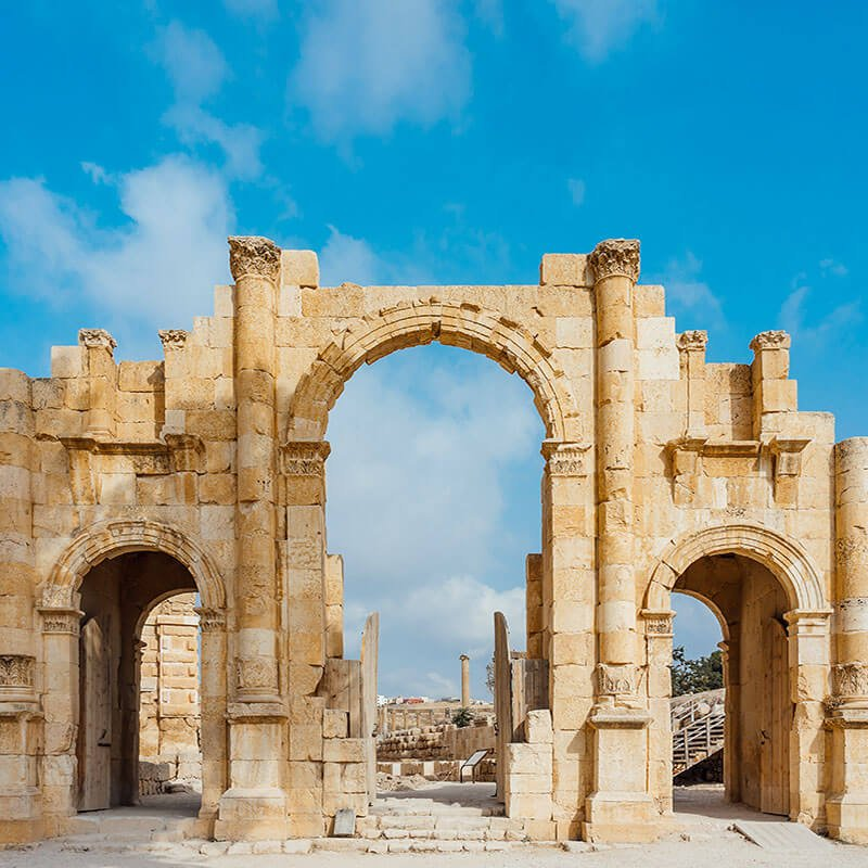 Jerash And Dead Sea Tour